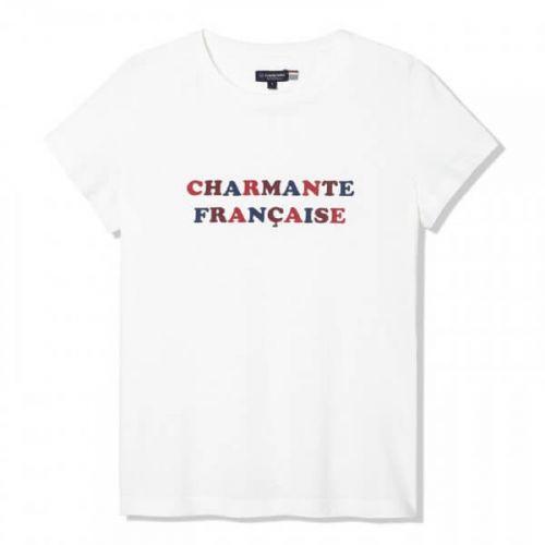 T-shirt Charmante Française...